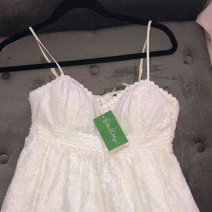 White lace Joanna dress